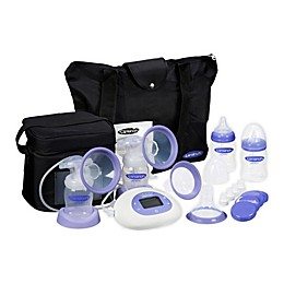 Lansinoh® Smartpump™ Double Electric Breast Pump with Accessories in Purple/White
