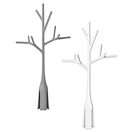 Boon® 2-Pack Plastic Twig Bottle Drying Rack in Grey/White