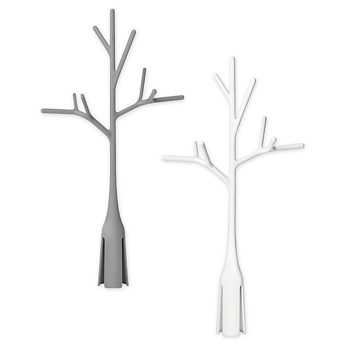 Alternate image 1 for Boon® 2-Pack Plastic Twig Bottle Drying Rack in Grey/White