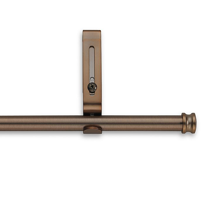 Alternate image 1 for Cambria® Classic Complete® Decorative 28-Inch x 48-Inch Drapery Rod in Oil Rubbed Bronze