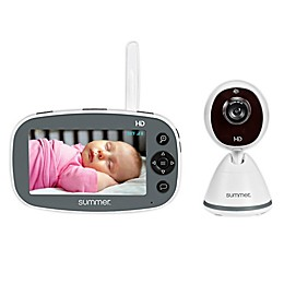Summer™ Pure HD 4.5-Inch Digital Video Baby Monitor with Automatic Night Vision in White