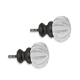 Cambria® Classic Complete® Luminous Finial in Matte Brown (Set of 2)