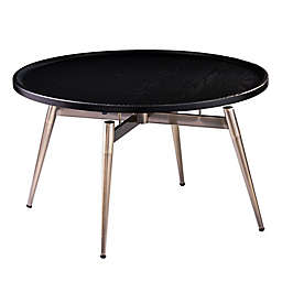 Holly & Martin® Lockmere Cocktail Table in Black/Antique Brass