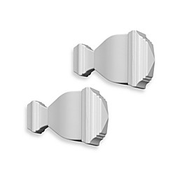 Cambria® Classic Complete® Napoleon Finial in Satin White (Set of 2)