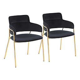 LumiSource® Napoli Contemporary Chairs (Set of 2)