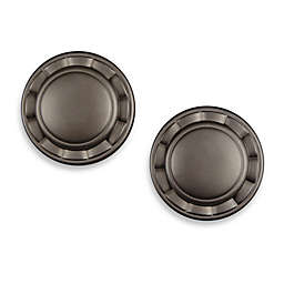 Cambria® Elite Complete Drapery Spindle in Matte Brown (Set of 2)