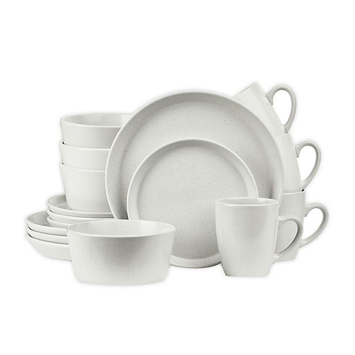 Alternate image 1 for Stone Lain 16-Piece Dinnerware Set in Snow White