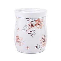 Croscill® Liana Ceramic Floral Wastebasket