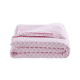 BlanQuil Junior 7 lb. Weighted Blanket in Soft Pink