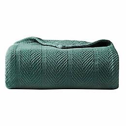 Eddie Bauer® Herringbone Blanket