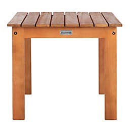 Safavieh Randor Patio Folding Table in Natural
