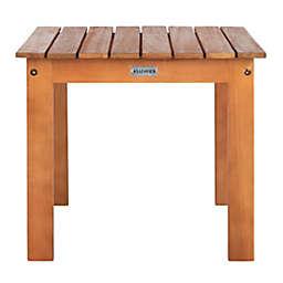 Safavieh Randor Patio Folding Table in Natural