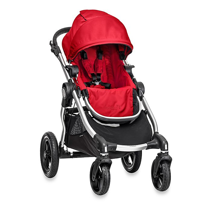 Alternate image 1 for Baby Jogger® City Select® Single Stroller in Ruby
