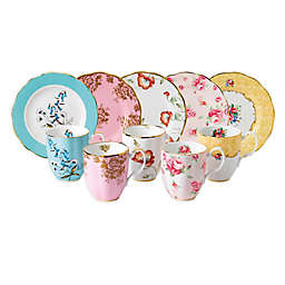 Royal Albert 100 Years 1950-1990 10-Piece Mug and Plate Set