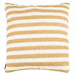 Safavieh Glenna Square Throw Pillow in White/Yellow