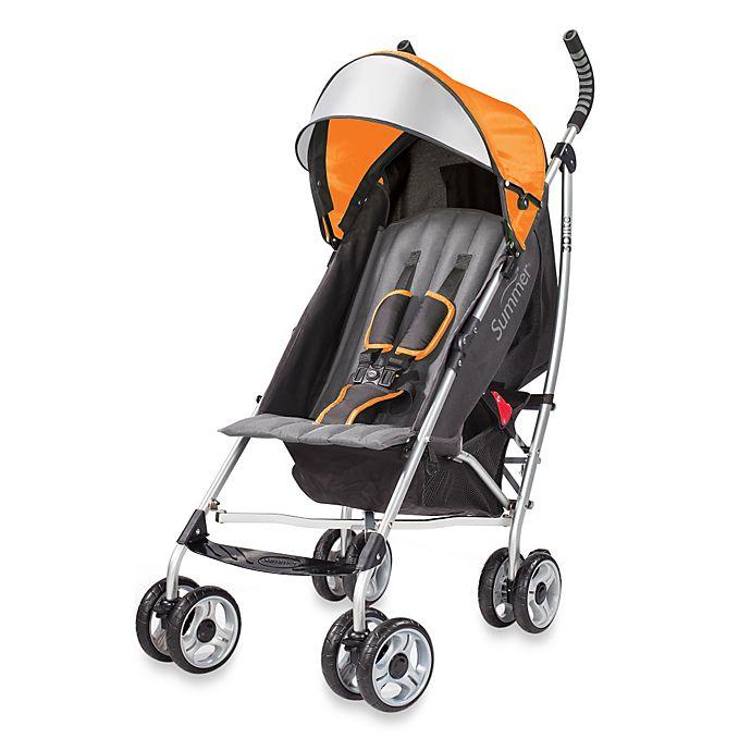 Summer Infant® 3D Lite™ Convenience Stroller In Tangerine