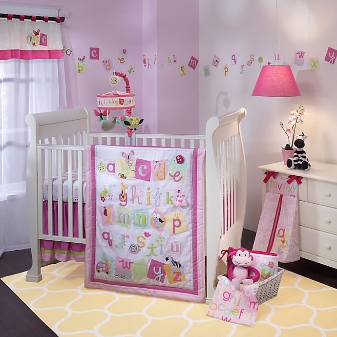 Lambs Ivy Sweet Abc Crib Bedding Collection