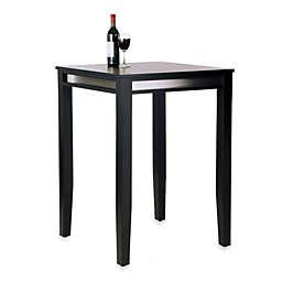Home Styles Manhattan Pub Table in Black
