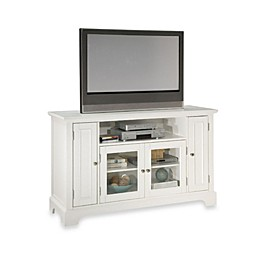 Home Styles Naples 60-Inch TV Credenza in White