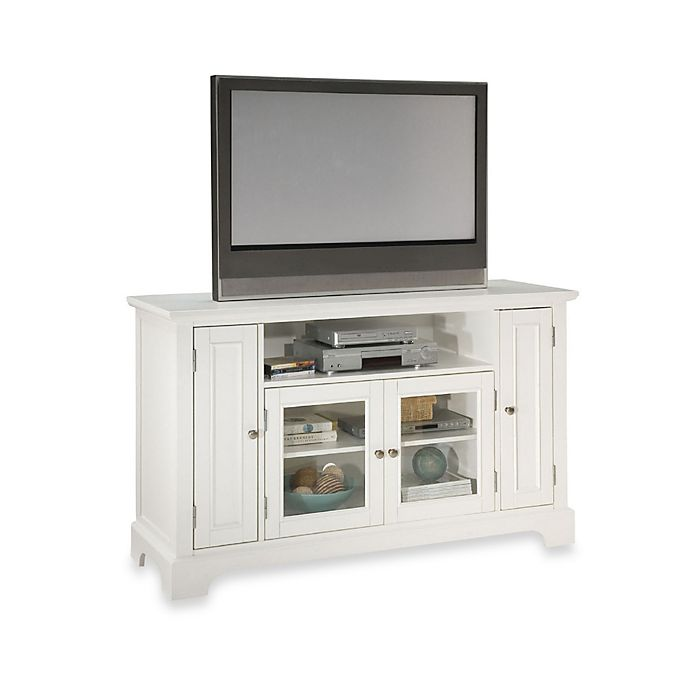 Alternate image 1 for Home Styles Naples 60-Inch TV Credenza in White