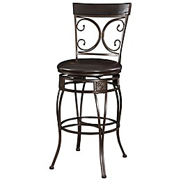 Powell The Big and Tall Back to Back Scroll Stool