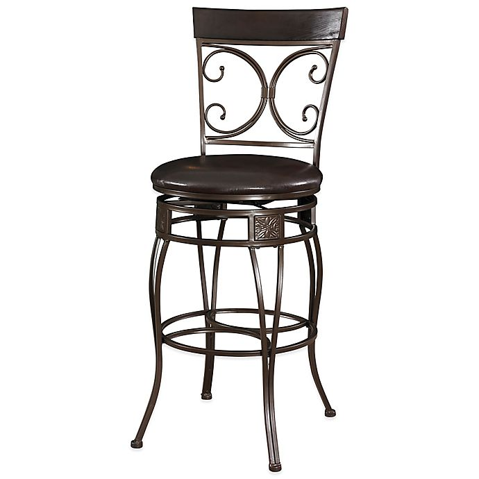 Alternate image 1 for Powell The Big and Tall Back to Back Scroll Stool