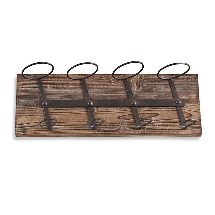 Southern Enterprises Saxon Wall Mount Wine Storage In