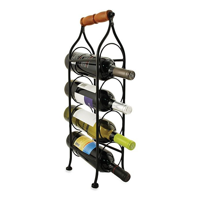 Alternate image 1 for Climbing Tendril 4-Bottle Wine Rack