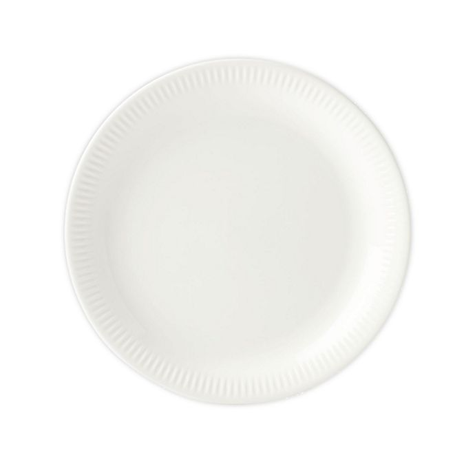 Alternate image 1 for Lenox® Profile Accent Plates in White (Set of 4)