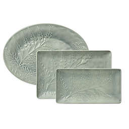 222 Fifth Tulace Serveware Collection in Green