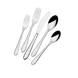 Neveah Coupe™ by Fitz and Floyd® 45-Piece Flatware Set