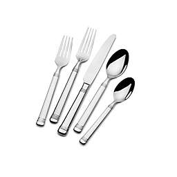 Everyday Bistro Band™ by Fitz and Floyd® 45-Piece Flatware Set