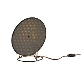 Adesso® Gilroy Black Table Lantern in Black