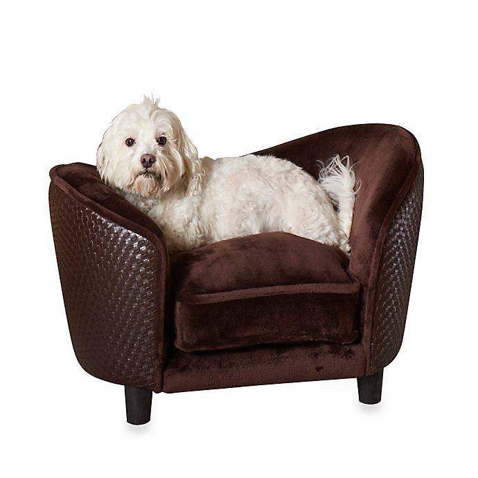 Alternate image 1 for Enchanted Home Pet Ultra Plush Snuggle Basketweave Pet Beds