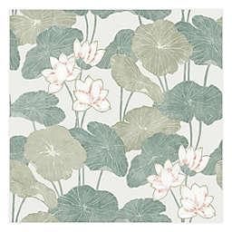 RoomMates® Lily Pad Peel & Stick Wallpaper