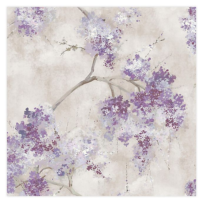 Roommates Weeping Cherry Tree Blossom Peel Stick Wallpaper Bed Bath Beyond