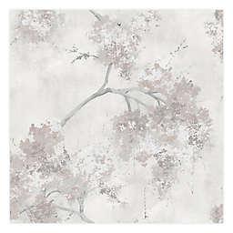 RoomMates® Weeping Cherry Tree Blossom Peel & Stick Wallpaper in Purple in Beige