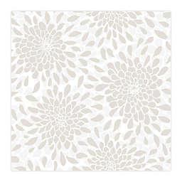 RoomMates® Toss The Bouquet Peel & Stick Wallpaper in Beige