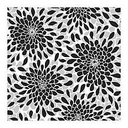 RoomMates® Toss The Bouquet Peel & Stick Wallpaper in Black