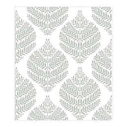 RoomMates® Hygge Fern Damask Peel & Stick Wallpaper in Grey