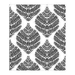 RoomMates® Hygge Fern Damask Peel & Stick Wallpaper in Black
