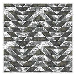 RoomMates® Southwest Geometric Peel & Stick Wallpaper in Black/Gold