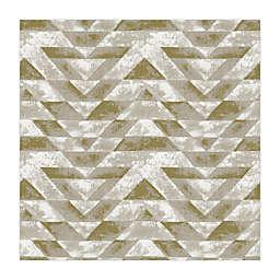 RoomMates® Southwest Geometric Peel & Stick Wallpaper in Gold/Grey