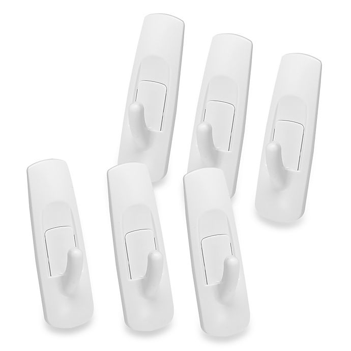 Alternate image 1 for 3M Command™ Strips Damage-Free Hanging Medium Utility Hooks (Pack of 6)