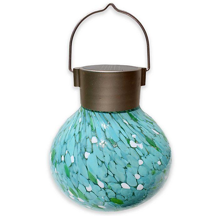 Hanging Outdoor Solar Tea Lantern, Allsop Home And Garden Solar Tea Lantern