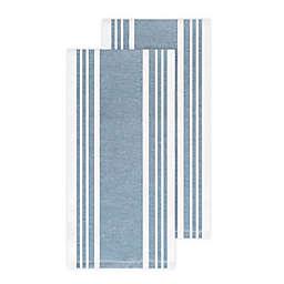 All-Clad Striped Kitchen Towels in Cornflower (Set of 2)