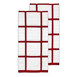 All-Clad Plaid Kitchen Towels (Set of 2)