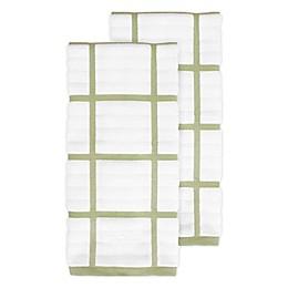 All-Clad Plaid Kitchen Towels (Set of 2)