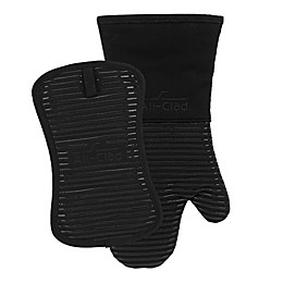 All-Clad 2-Piece Silicone Oven Mitt and Pot Holder Set