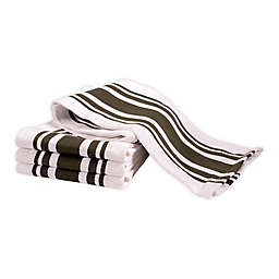 Artisanal Kitchen Supply® All Purpose Kitchen Towels in Green (Set of 4)